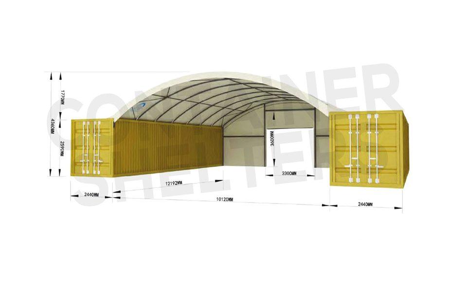 10m x 40′ Super Heavy Duty C/S – Fire Retardant PVC Covers