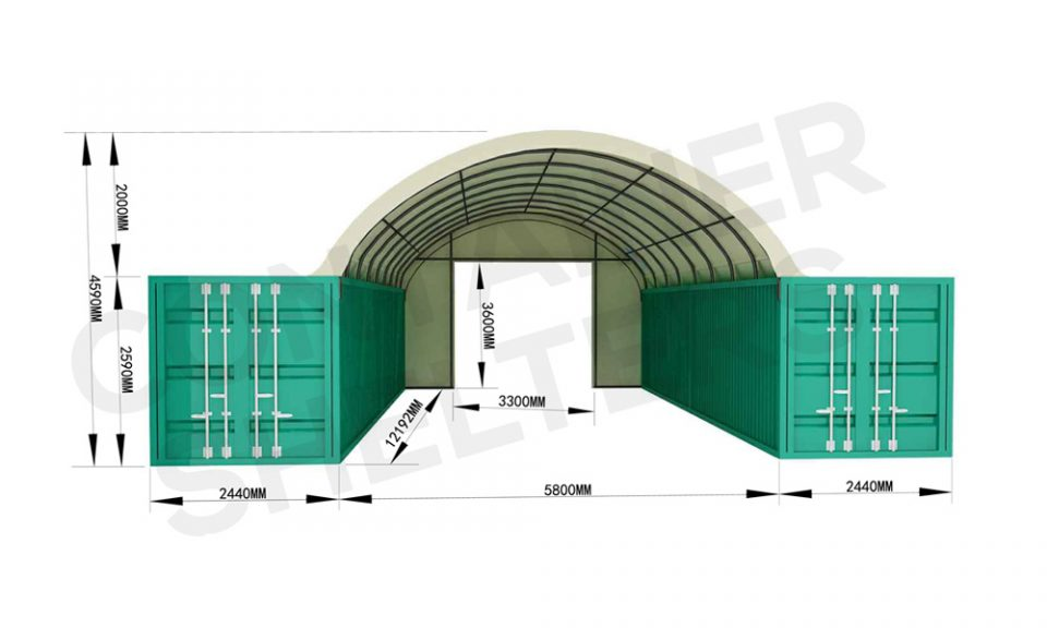 End Wall Panels Available For All Shelters