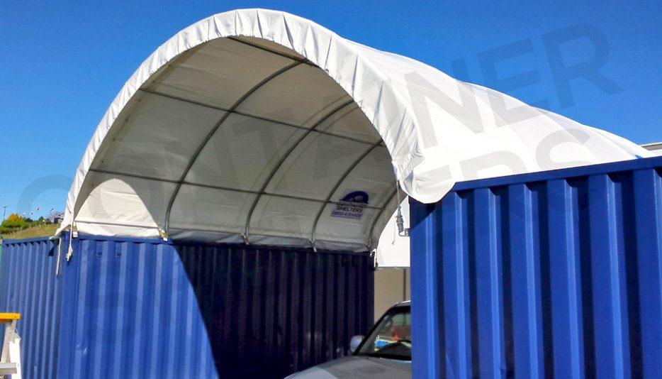 6m x 20' Strong Portals - Best PVC Covers