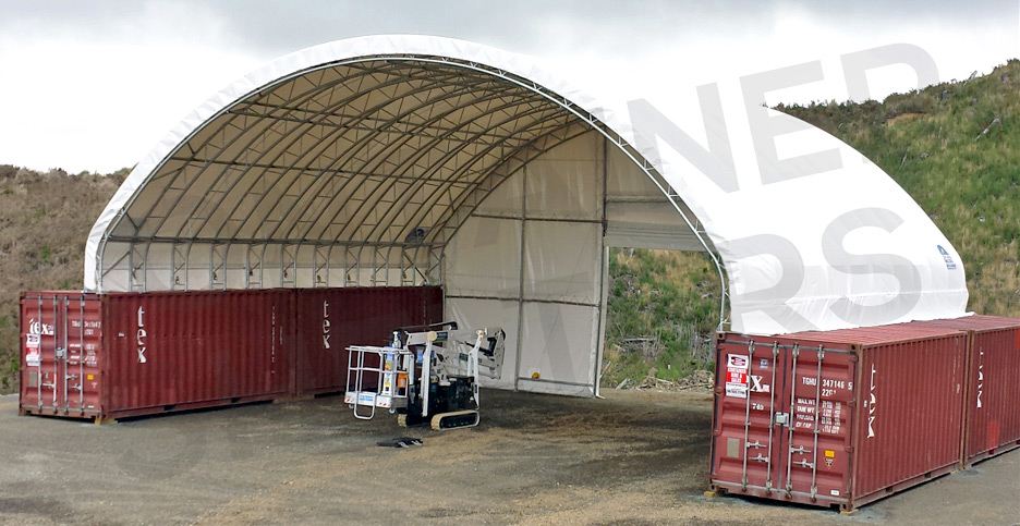Trust our 14m wide Truss for Super Stength in ALL conditions!