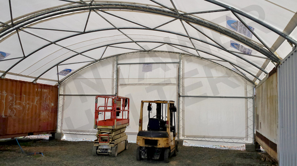 10m x 60' With End Wall Panel